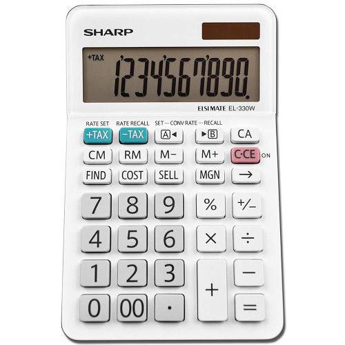 Calculadora Sharp EL-330WB...
