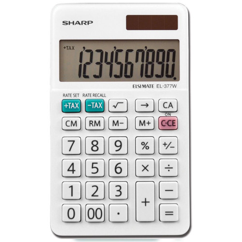 Calculadora Sharp 10-digit...