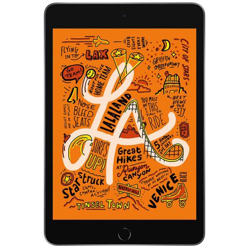 """Apple iPad Mini 5 64GB (7.9"""", Wi-Fi+4G, Cinza Espacial) MUX52LZ/A - 1"""