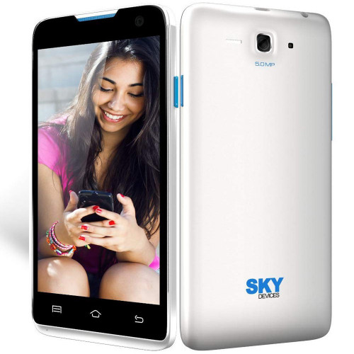 Smartphone Sky Divices 4.5D Blanco Anatel 45DWH21 - 1