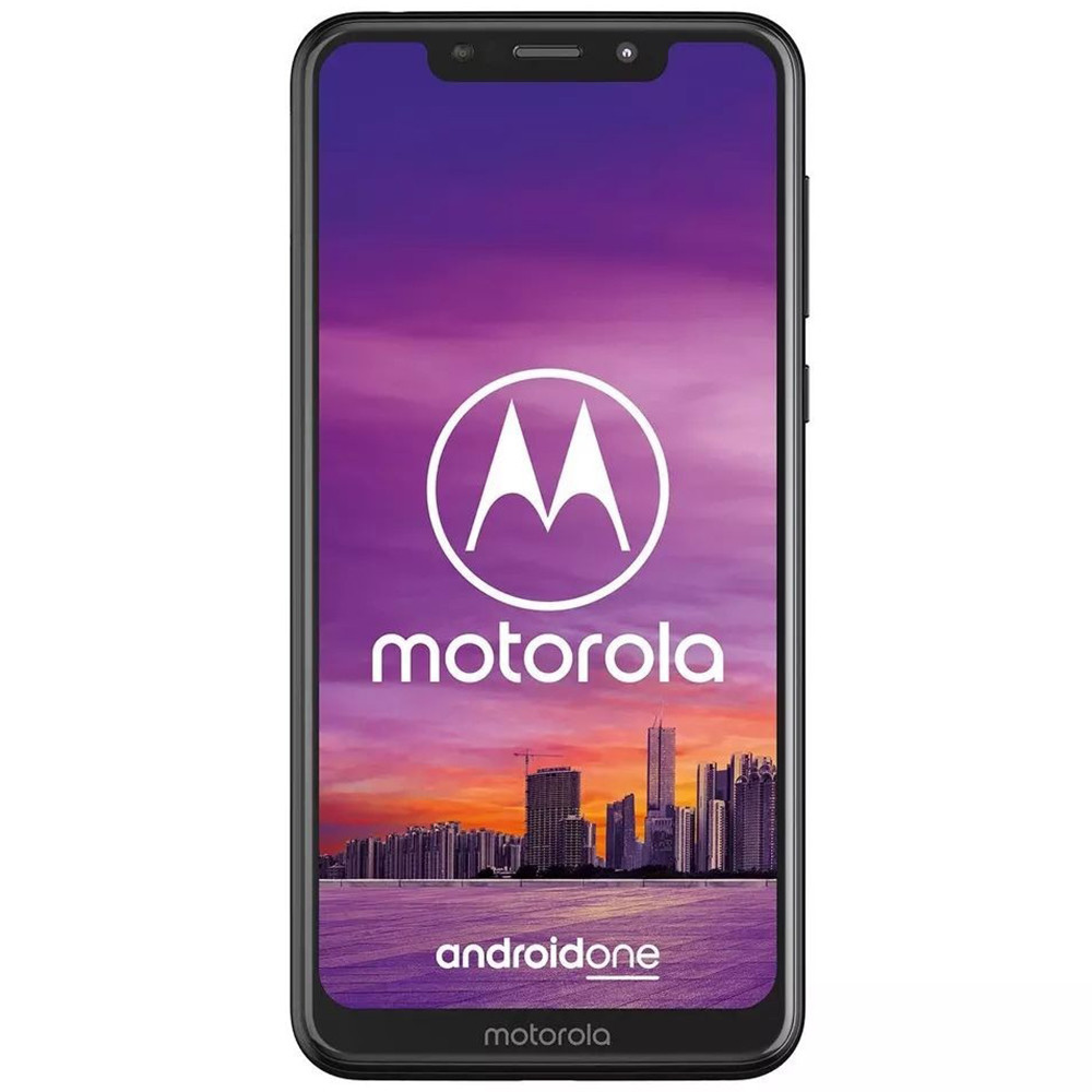 Smartphone Motorola Moto One XT-1941-5 1 SIM 64GB Negro - 1