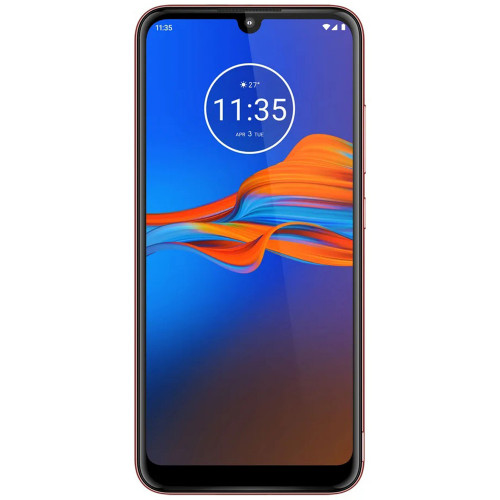 Smartphone Motorola Moto E6+ XT-2025-1 Duos 32GB Cherrry Rojo - 1