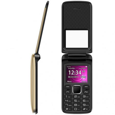 Celular Blu Zoey Flex Z131 Duos 32MB Dorado - 7
