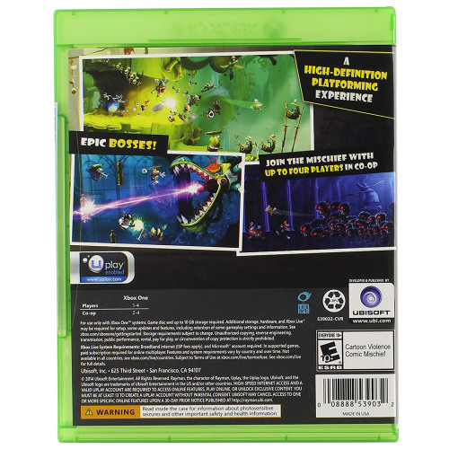 Juego Xbox One Rayman Legends