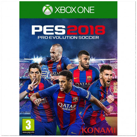 Juego Xbox One Pes 2018 Pro Evolution - 1