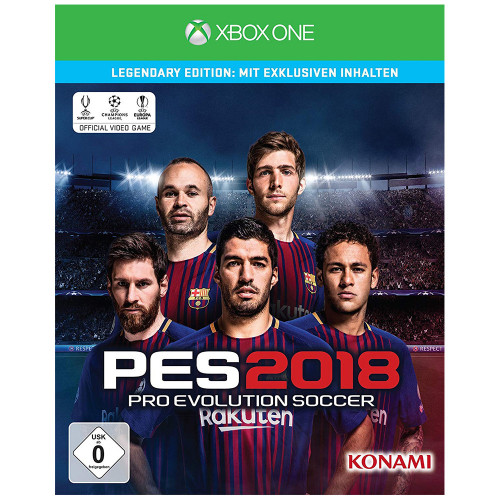 Juego Xbox One Pes 2018...