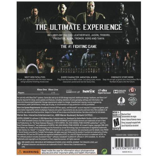 Juego Xbox One Mortal Kombat XL - 2