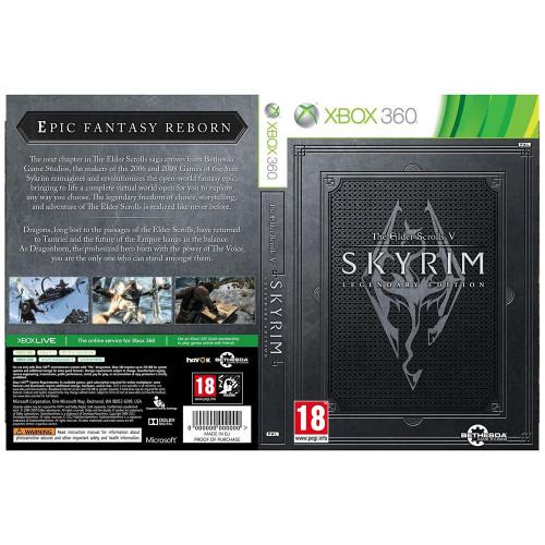 Juego Xbox 360 Skyrim The...