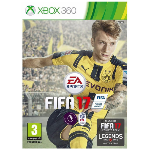 Juego Xbox 360 FIFA 17...