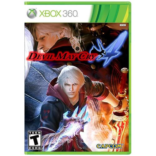 Jogo Xbox 360 Devil May Cry 4