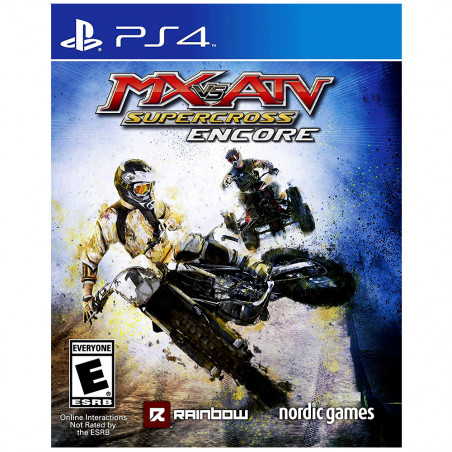 Juego Playstation 4 MX Vs ATV Supercross - 1