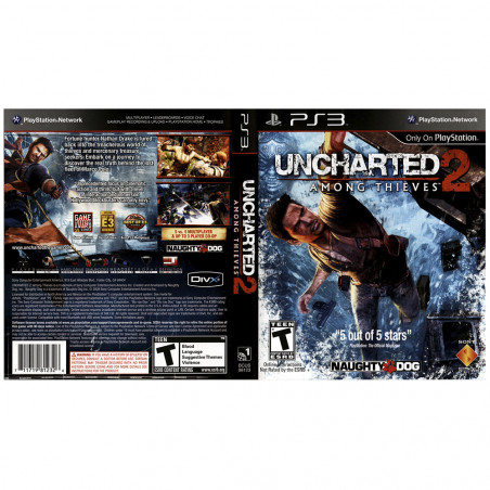 Juego Playstation 3 Uncharted 2 Among Thieves - 4