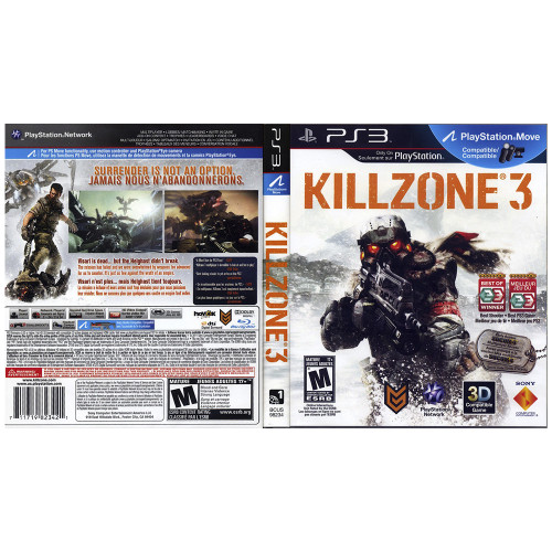 Juego Playstation 3 Killzone 3