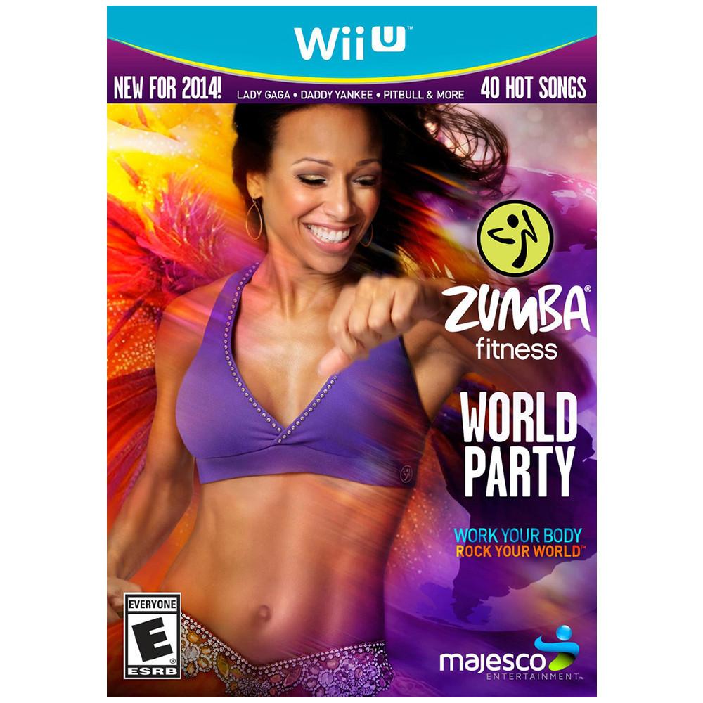 Jogo Nintendo Wii U Zumba Fitness World Party
