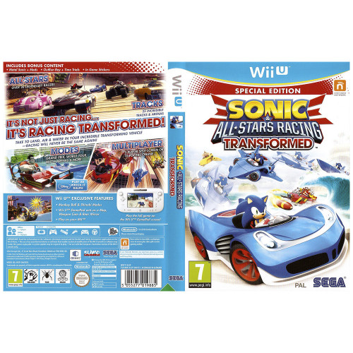 Juego Nintendo Wii U Sonic...