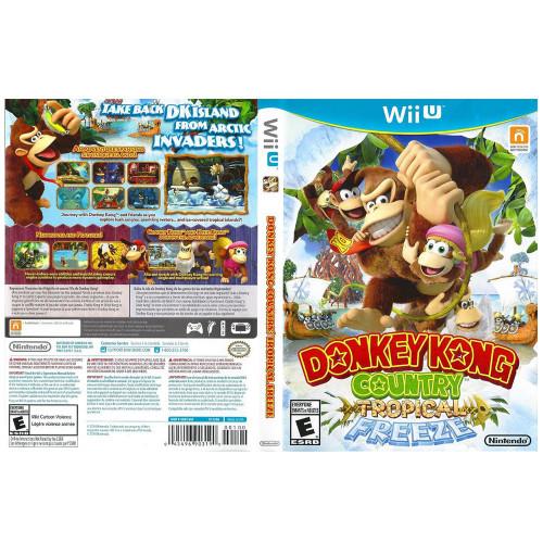 Juego Nintendo Wii U Donkey...