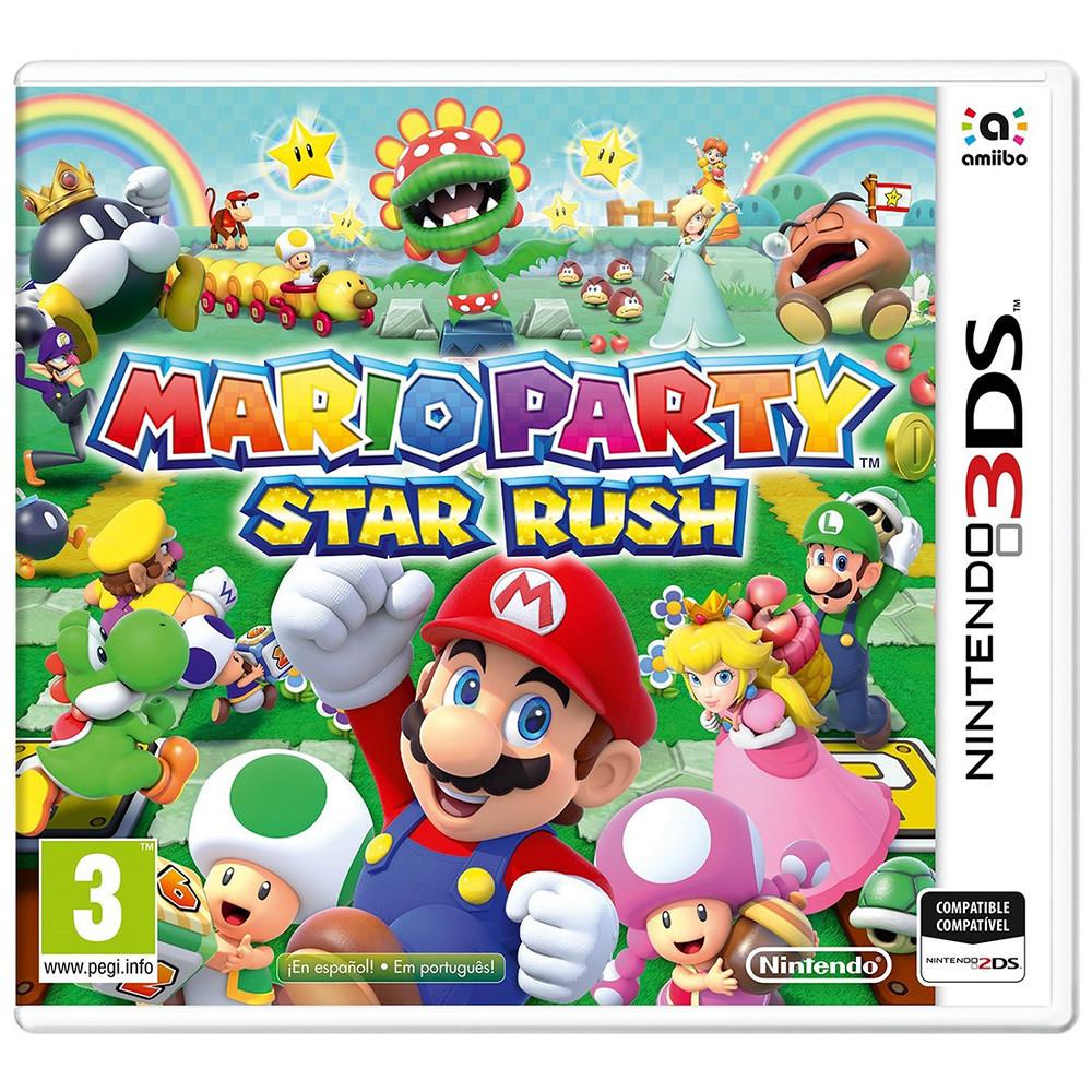 Juego Nintendo 3DS Mario Party Star Rush - 1