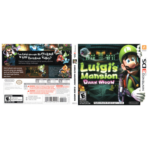 Juego Nintendo 3DS Luigi...
