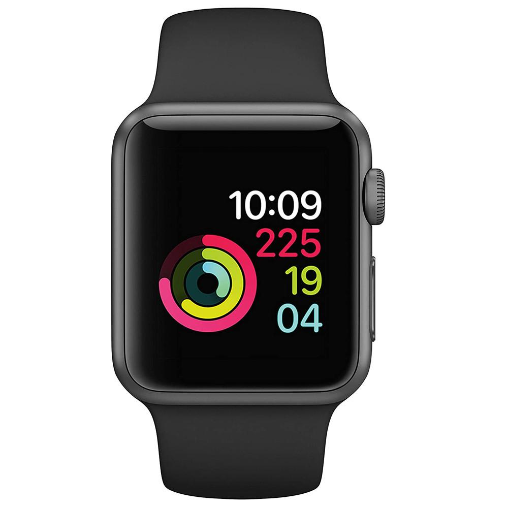 Apple Watch Series 3 42mm (GPS, Aluminio Gris Espacial, Pulsera Sport Negro) MTF32BZ/A - 1
