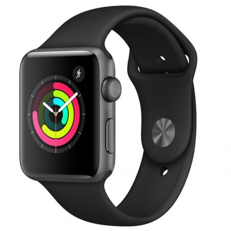 Apple Watch Series 3 42mm (GPS, Aluminio Gris Espacial, Pulsera Sport Negro) MTF32BZ/A - 3