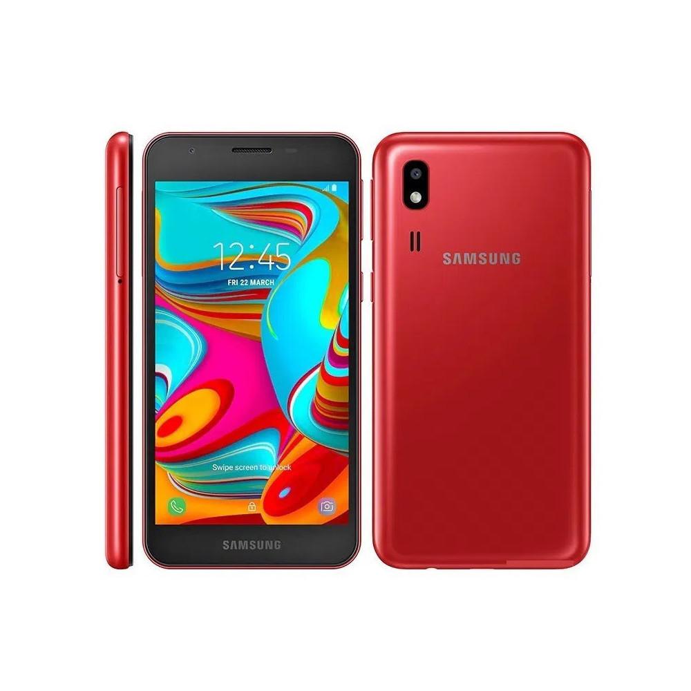 Smartphone Samsung Galaxy A2 Duos 16GB Rojo SM-A260F/DS - 1