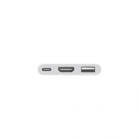 Adaptador USB-C para A.V Digital Multiporta Apple MUF82AM/A A2119 Blanco - 2
